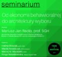 """Seminarium w ramach """"Tygodnia z architekturą 2017"""""""